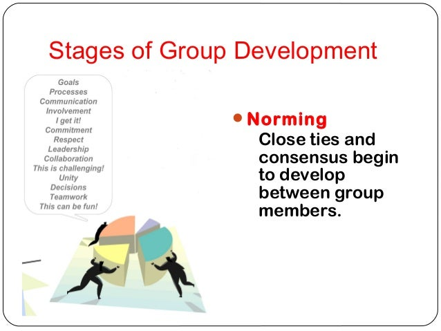stages of group developement From the teamwork & teamplay website at wwwteamworkandteamplaycom page 1 of 8 exploring the five stages of group formation using adventure-based and active-learning techniques.