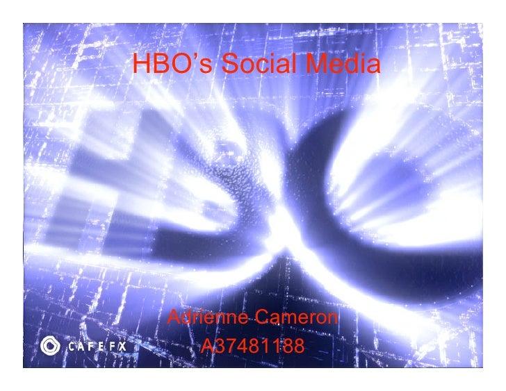 Hbo social media