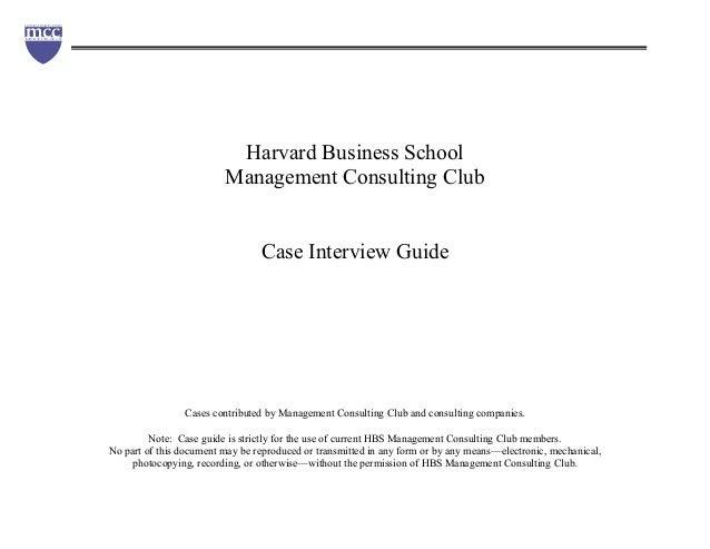Case study harvard