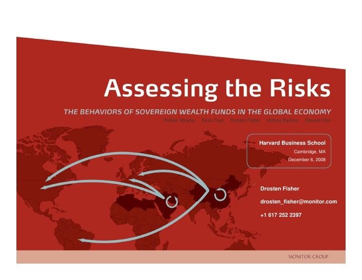 Assessing the Risks                                                                                 William Miracky   Davi...