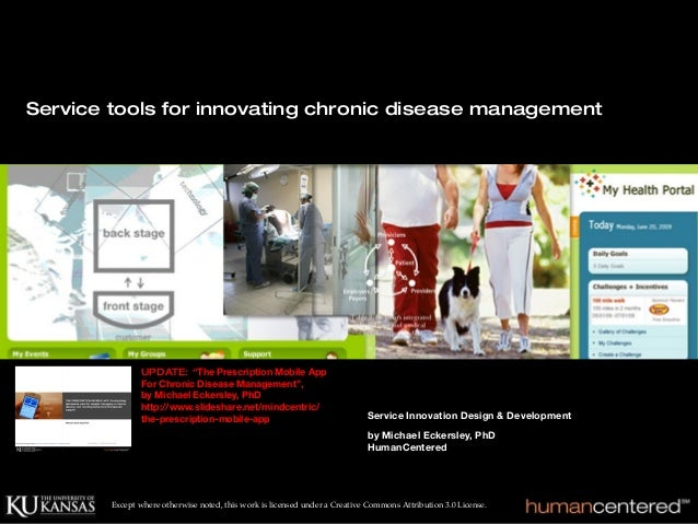 Service Tools For Innovating Chronic Disease Management