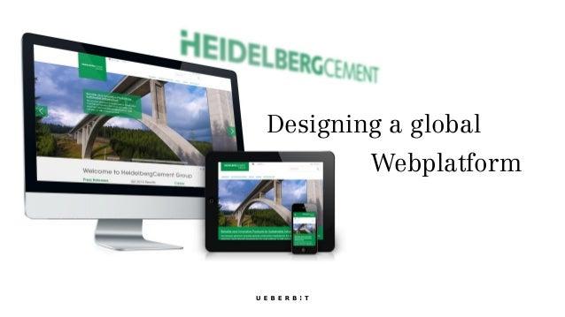 Designing a global Webplatform