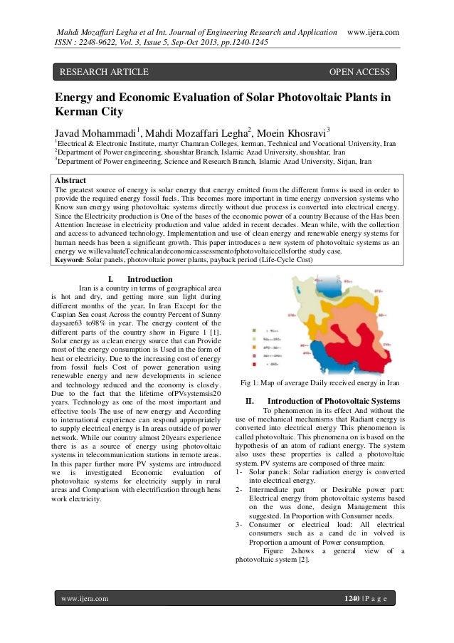 Mahdi Mozaffari Legha et al Int. Journal of Engineering Research and Application ISSN : 2248-9622, Vol. 3, Issue 5, Sep-Oc...