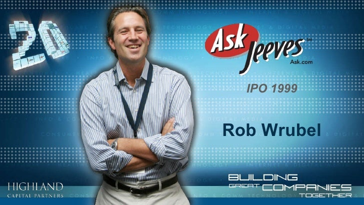 Rob Wrubel IPO 1999
