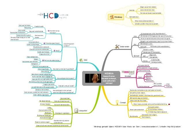HCD2014: Geesje Mosies: Hoooked verkoopt, want authentiek verkoopt Ondernemen Intro 15 medewerkers in NL (Hoofdkantoor) 80...