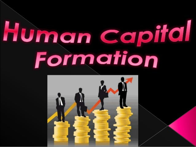 Essay on human capital formation in india