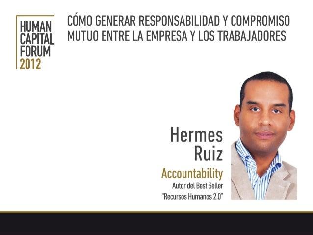 Accountability Cómo generar responsabilidad entre empresa y trabajadores