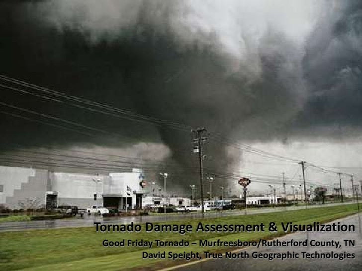 GIS Applications for Tornado Damage Visualization