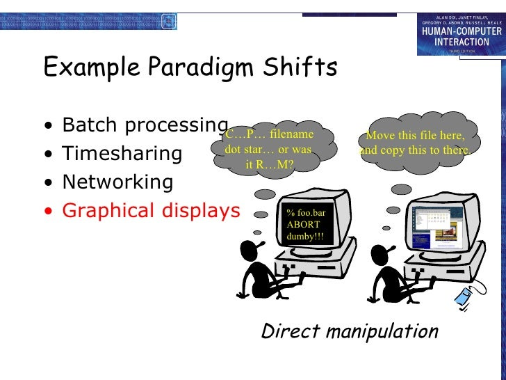 Good examples of paradigms?