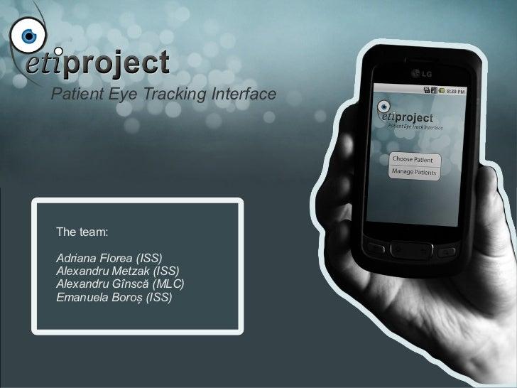 Hci Presentation - PETIproject 0.1
