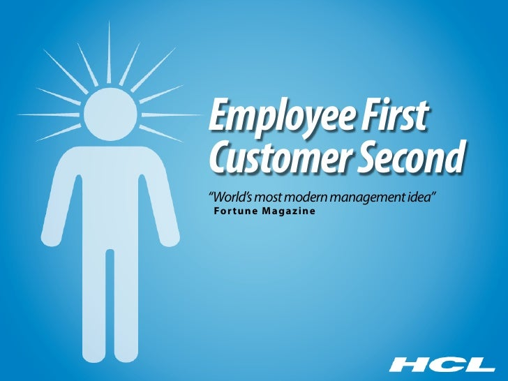 """Employee First Customer Second """"World's most modern management idea"""" For tune Magazine"""