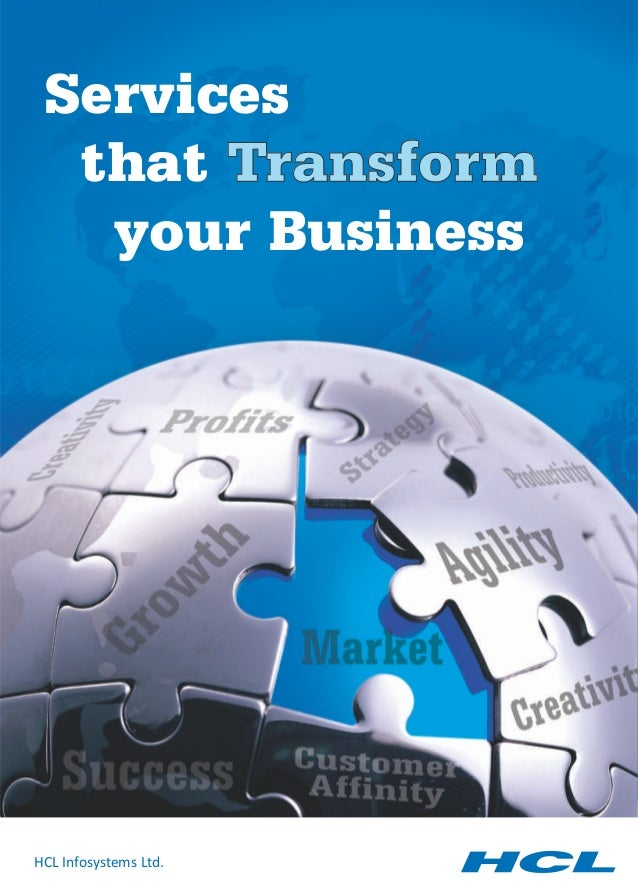 Services  that Transform   your BusinessHCL Infosystems Ltd.