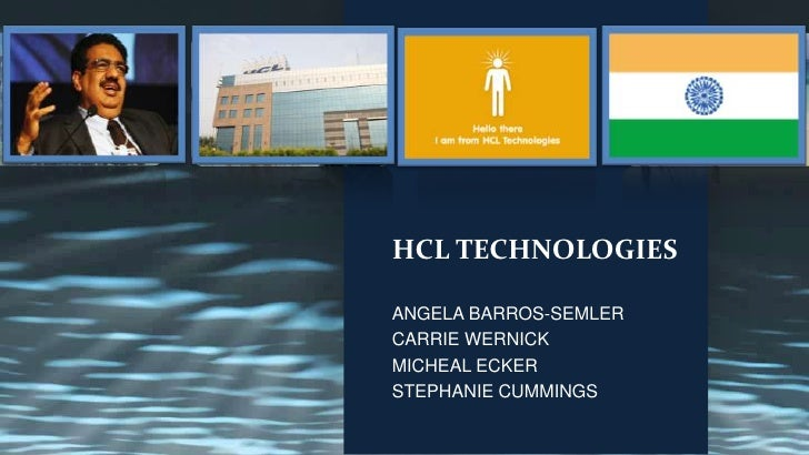 HCL TECHNOLOGIES FROM THE INSIDIE-OUT
