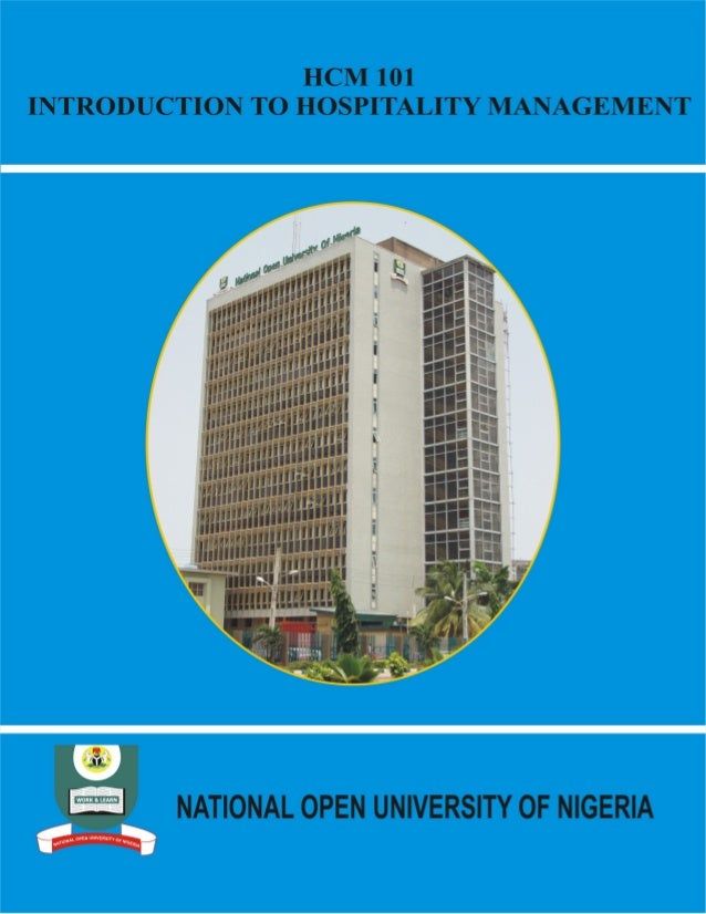 Hcm 101 introduction to hospitality management