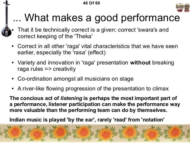 What makes a good...?