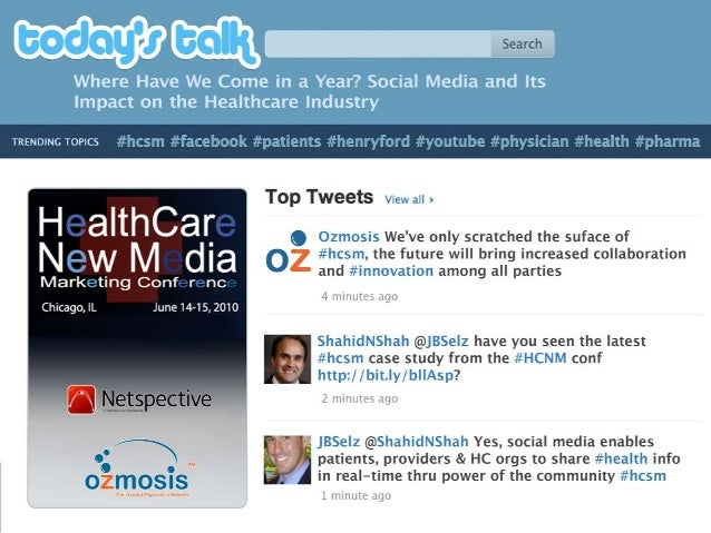 Healthcare New Media Marketing Conference Keynote