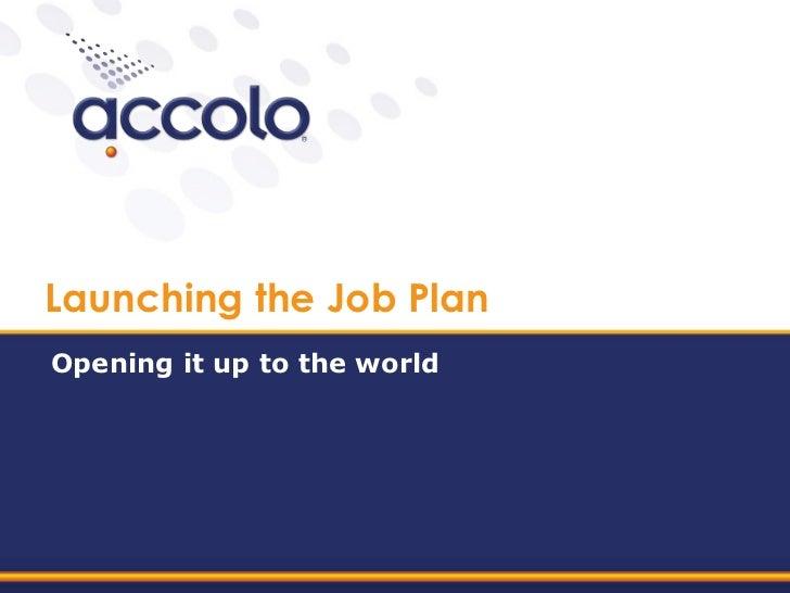 Hcn training 6   launching thejobplan