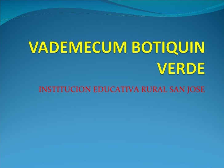INSTITUCION EDUCATIVA RURAL SAN JOSE
