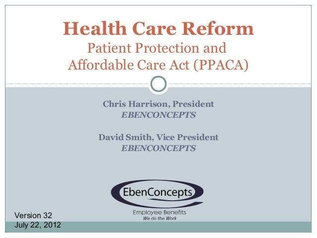 Hcr presentation v32 7.22.2012