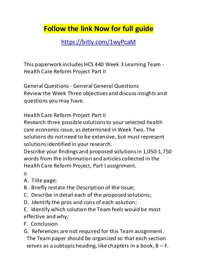 health care reform project part i A current health care economic issue in the united states is the prescription drugs many patients must obtain because of the doctor's orders to help with.