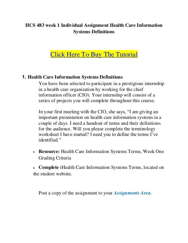 health care information system terms Read chapter 4 health care data standards: in the context of health care, the term data standards encompasses methods making the health care system safer.