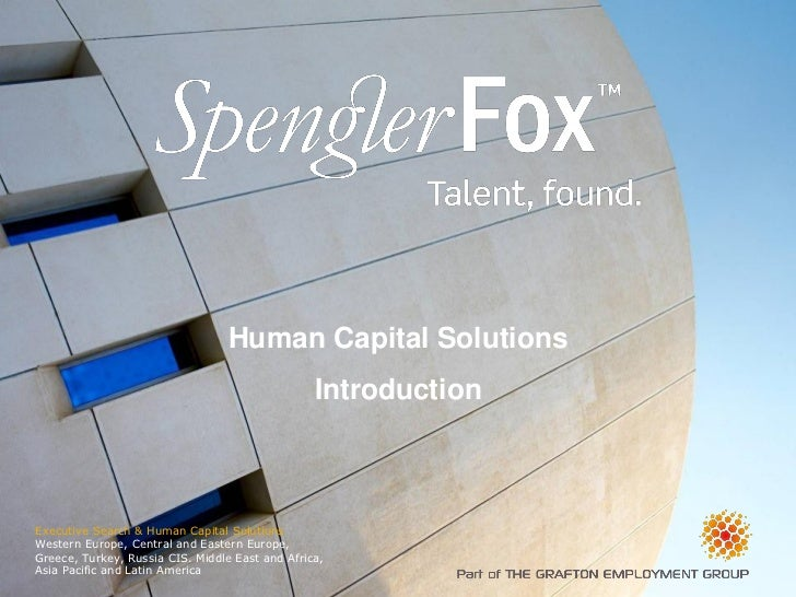 Human Capital Solutions                                                 IntroductionExecutive Search & Human Capital Solut...
