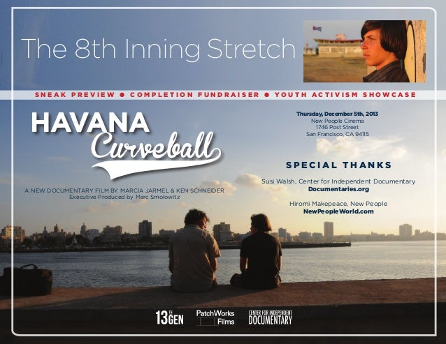 Havana Curveball Program Slideshow