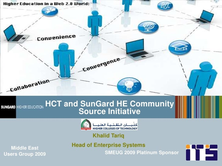 HCT and SunGard HE Community Source Initiative
