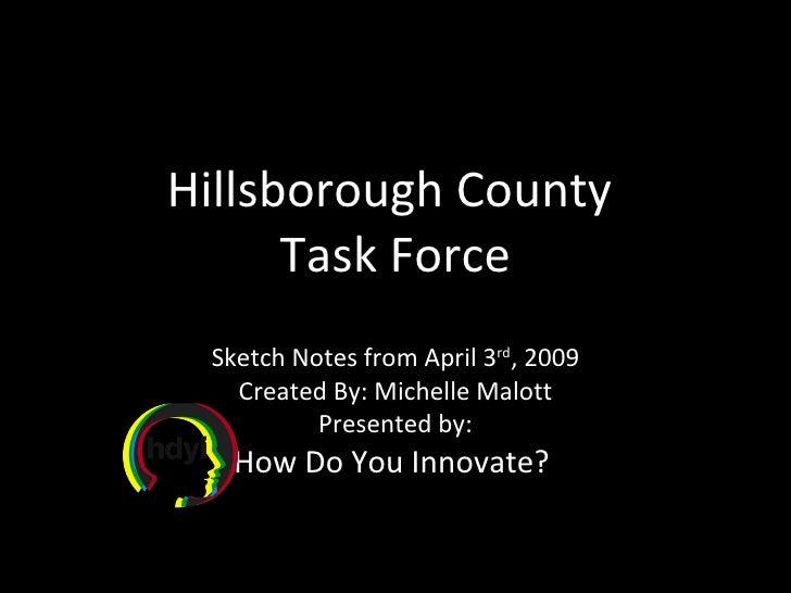 SketchNotes: Hillsborough County Task Force