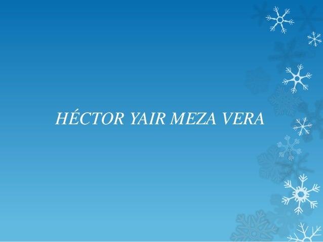 HÉCTOR YAIR MEZA VERA