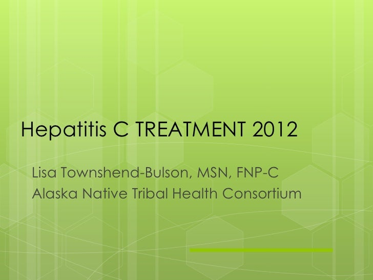 HCV Tx Update 2012 Townshend