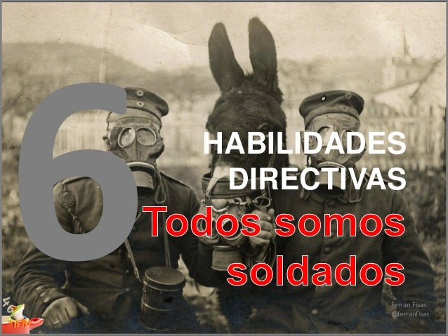 HD06- Todos somos soldados (Mantenimiento de Equipos Humanos)