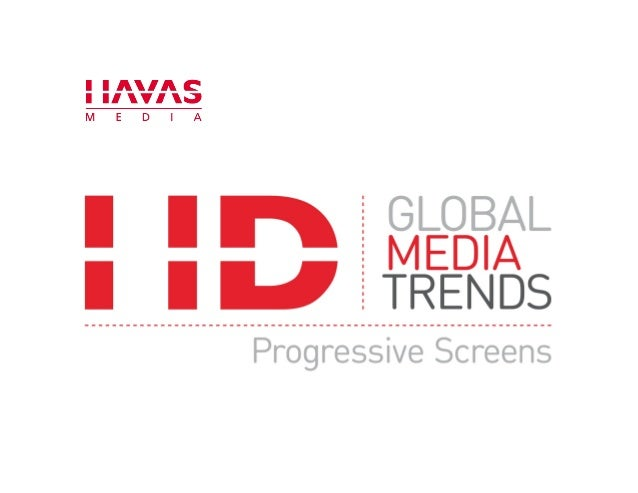 Global Media Trends: Progressive Screens (Multiscreen experiences)