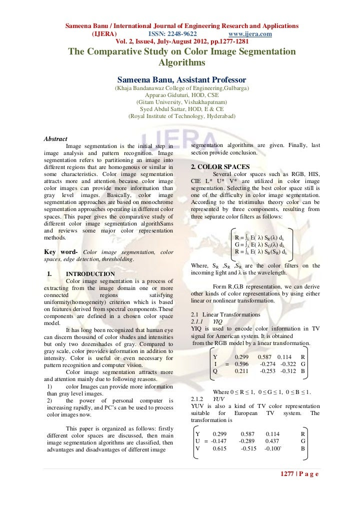 Sameena Banu / International Journal of Engineering Research and Applications               (IJERA)               ISSN: 22...