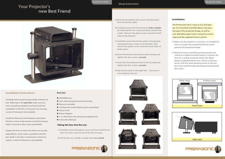 Model HD-5000R                                                                                                            ...