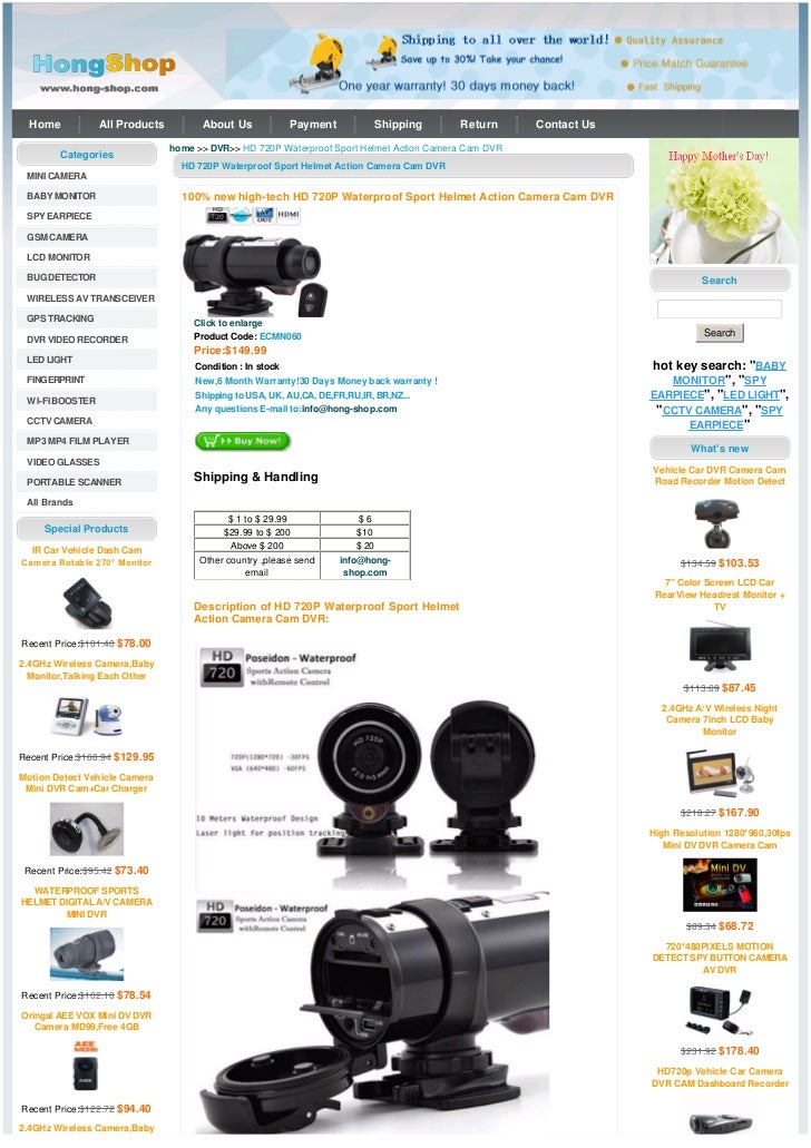 Home           All Products         About Us            Payment            Shipping     Return      Contact Us            ...