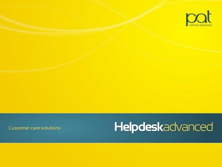 Helpdeskadvanced: Soluzione evoluta per la customer care
