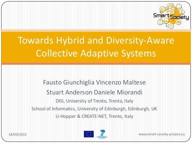 Towards Hybrid and Diversity-Aware Collective Adaptive Systems
