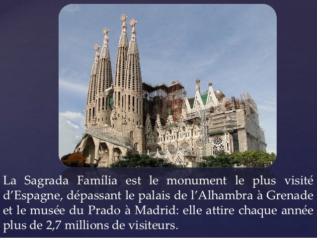 la sagrada familia gaudi et le modernisme