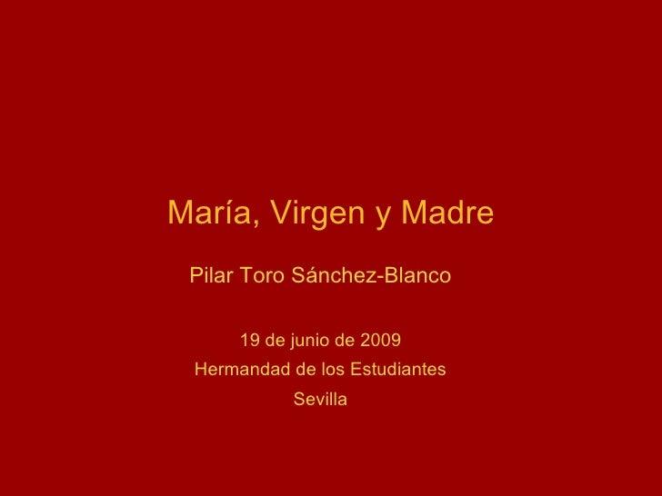 Maria, Virgen y Madre