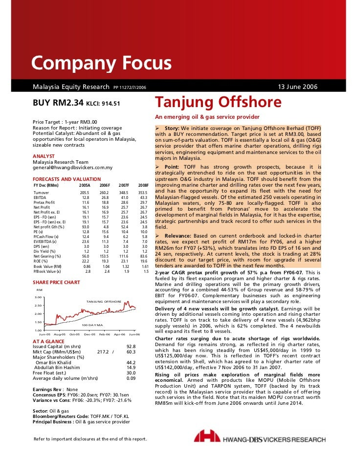 Company FocusCompany FocusDBS Group Research . Equity . MalaysiaMalaysia Equity Research PP 11272/7/2006                  ...