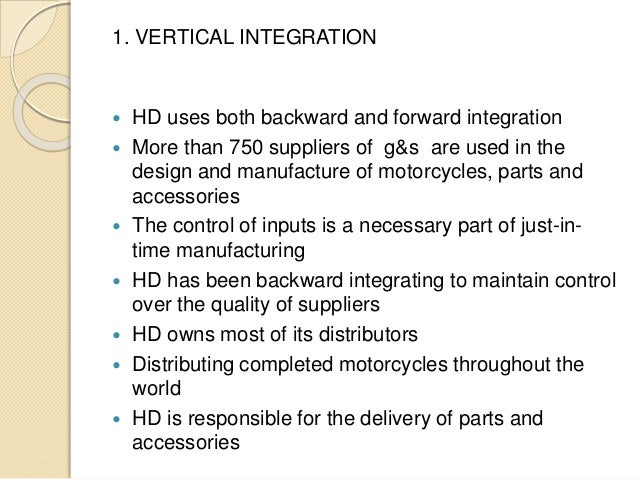 vertical integration a case study of What do firms do when they want to increase their competitiveness some companies adopt a vertical integration strategy in this lesson, you will.