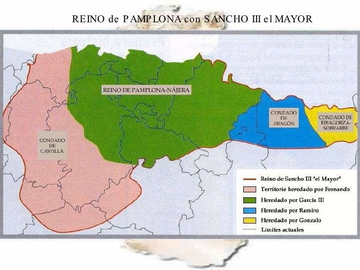 REINO de PAMPLONA con SANCHO III el MAYOR