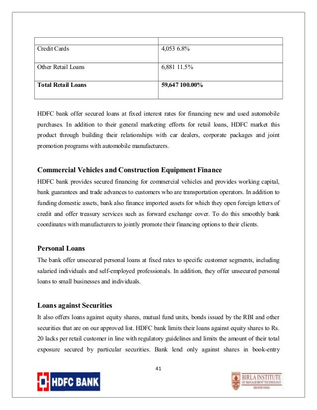 New car loan interest rate 2017 hdfc bank 10