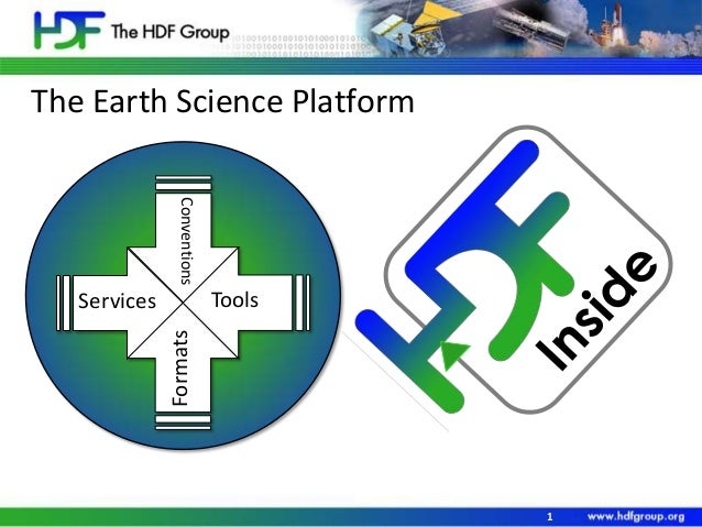 The Earth Science Platform Conventions  Tools Formats  Services  1