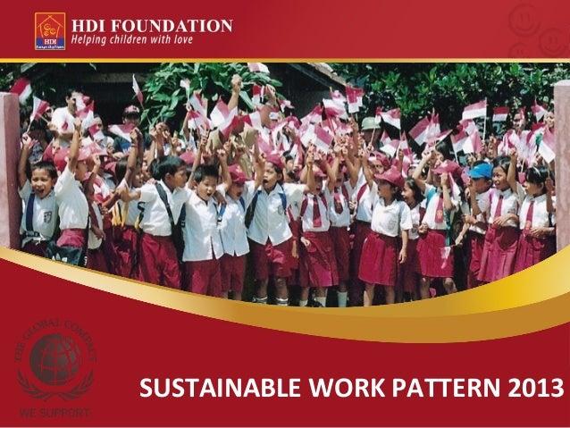 HDI Foundation Strategic 2013