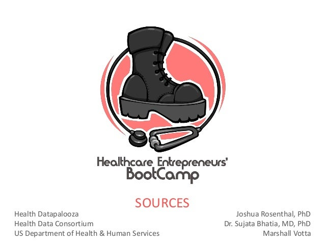 Health Datapalooza: Bootcamp Sources