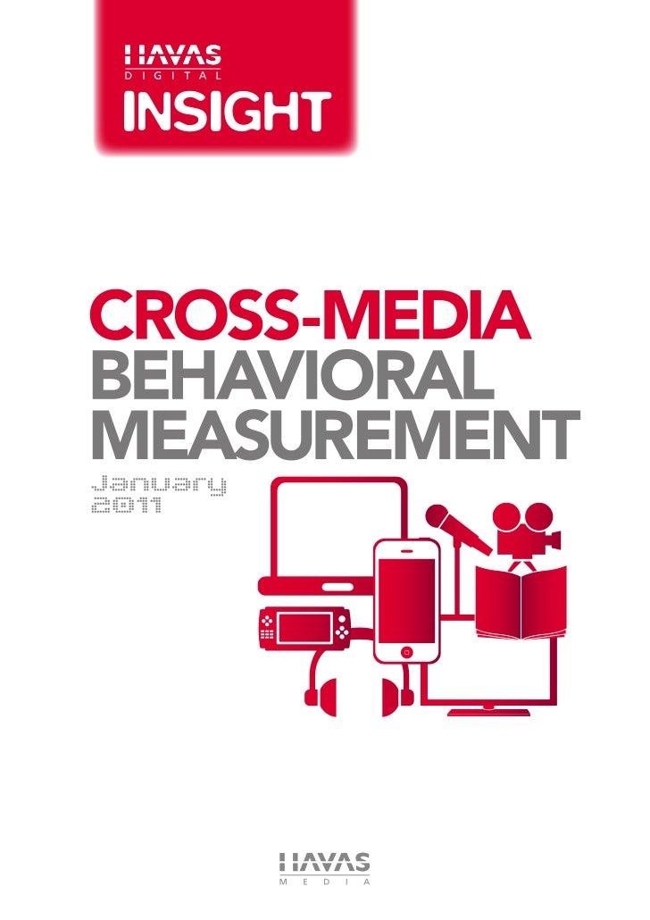 Cross-Media Behavioral Measurement