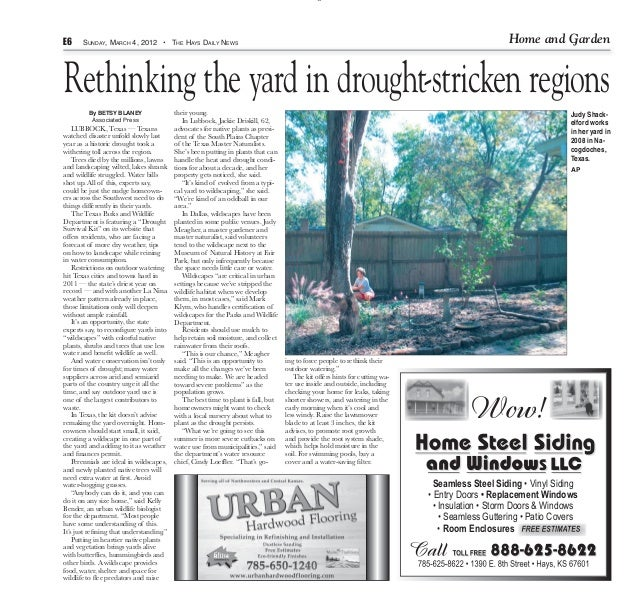 6E6     SUNDAY, MARCH 4, 2012 • THE HAYS DAILY NEWS                                                                       ...