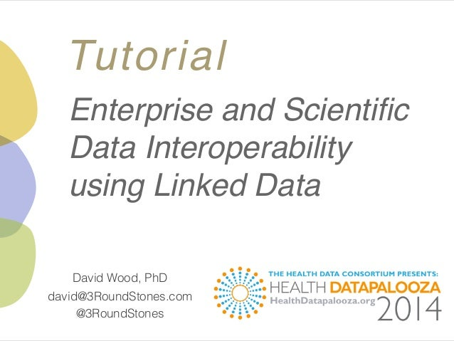 Enterprise & Scientific Data Interoperability Using Linked Data at the Health Datapalooza 2014